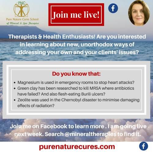 Live Mineral Healing Workshops