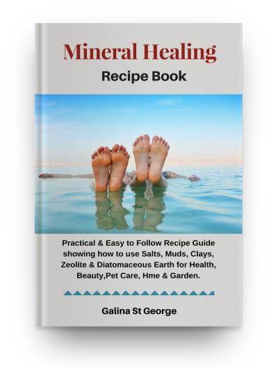 Mineral Healing Recipes Book - Ebook Cover